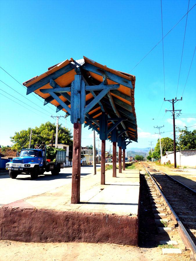 Trinidad railway station 始発駅ですがこのレベル